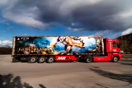Kratos On The Road!