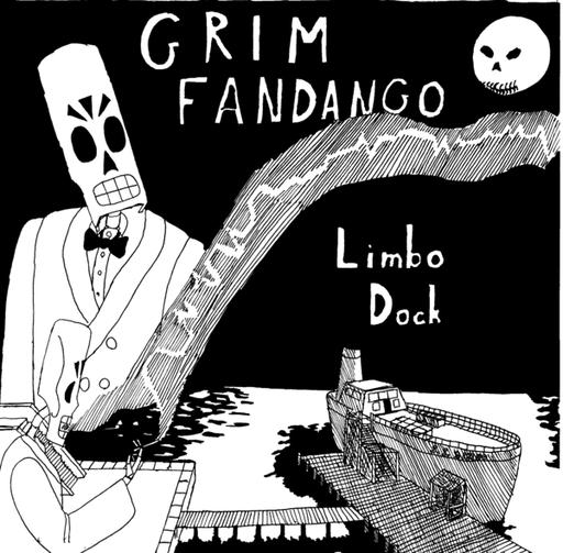 Grim Fandango - Немного хорошего арта Мэнни