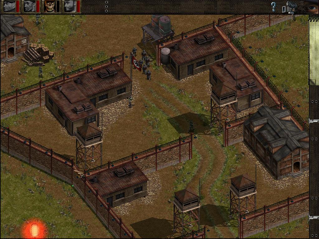 Commandos Behind Enemy Lines Прохождение игры