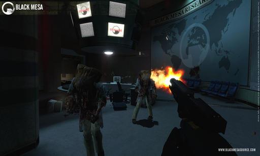 Half-Life - Новые скриншоты Black Mesa