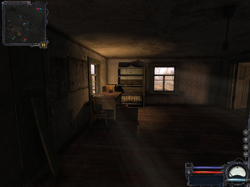 Сриншоты из игры Сталкер Чистое Небо.