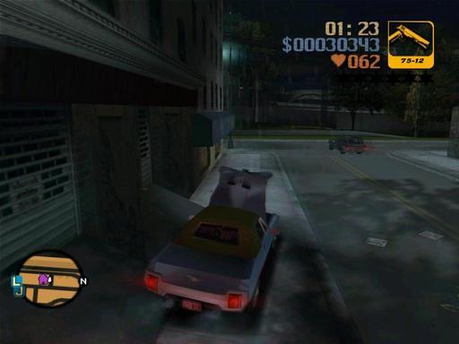 Grand Theft Auto III - Дневник Grand Theft Auto 3. Запись первая.