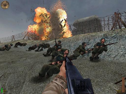 Игры Стрелялки 2 Мировая Война