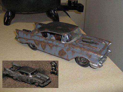 Fallout 2 - фанатская моделька highwayman