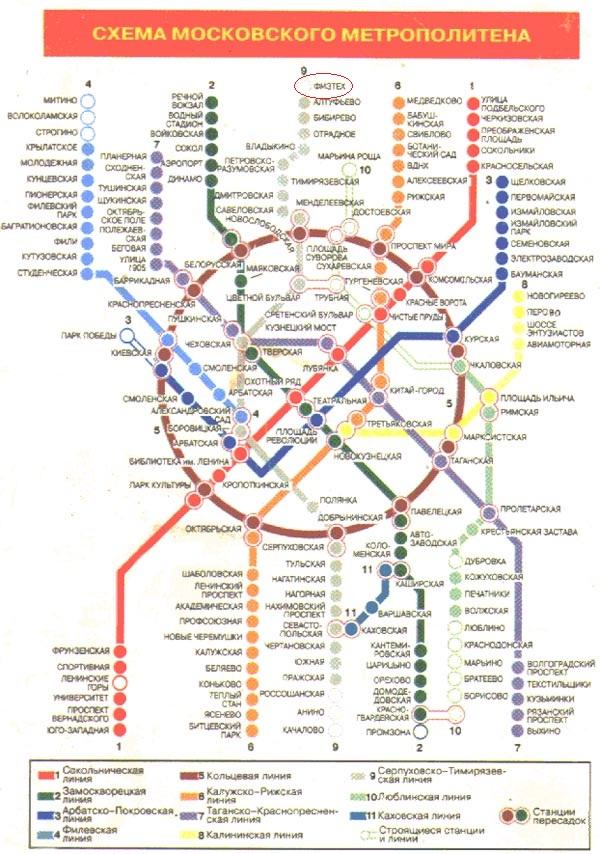 и мифы московского метро
