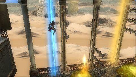 Prince of Persia: The Forgotten Sands - Обзор PSP-версии Prince of Persia: The Forgotten Sands.