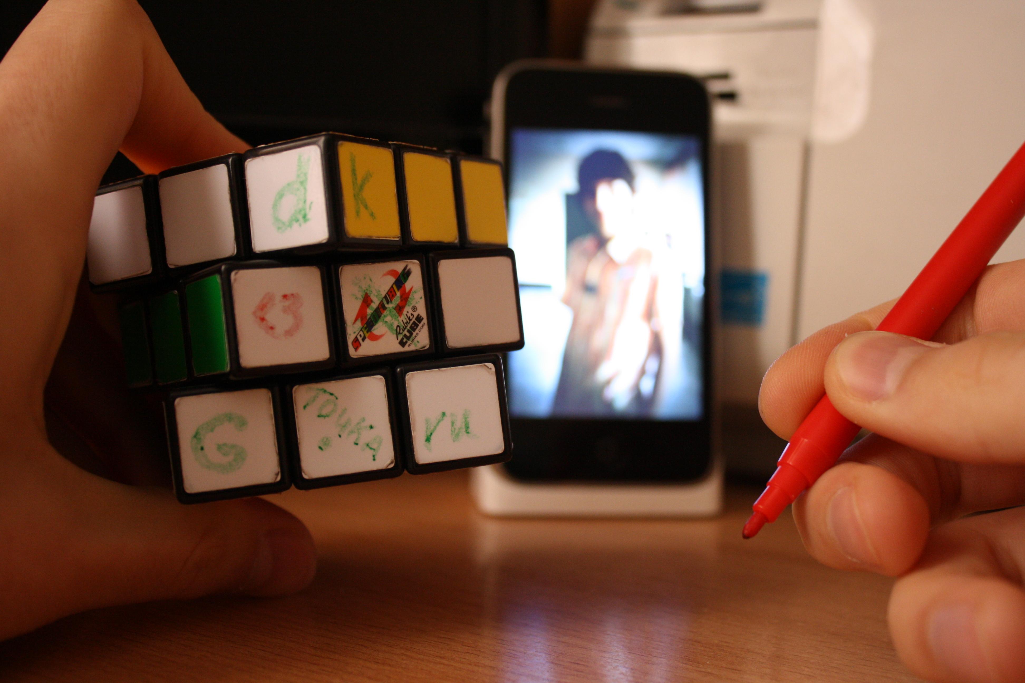 схема сборки кубика два на два рубика
