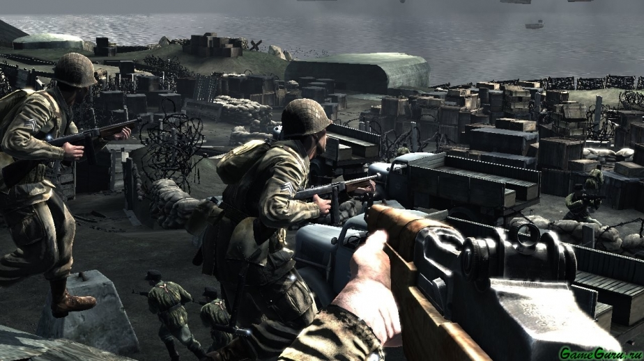 Medal of Honor: Airborne - Немного скриншотов.