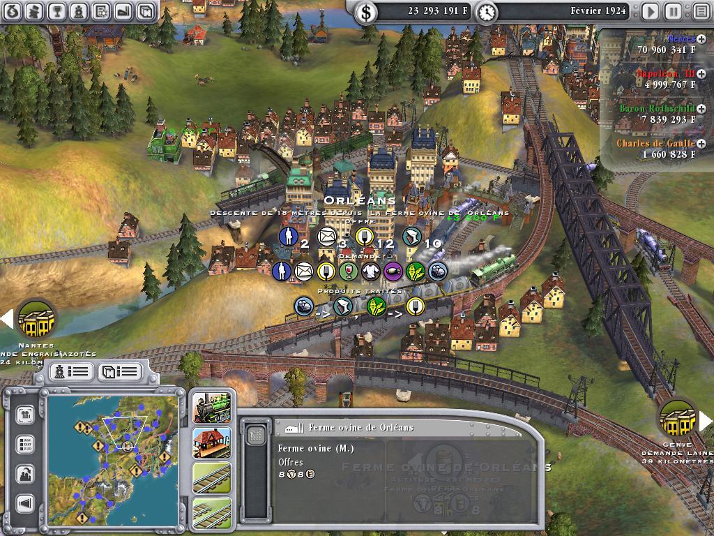 скачать игру через торрент Sid Meier S Railroads - фото 3