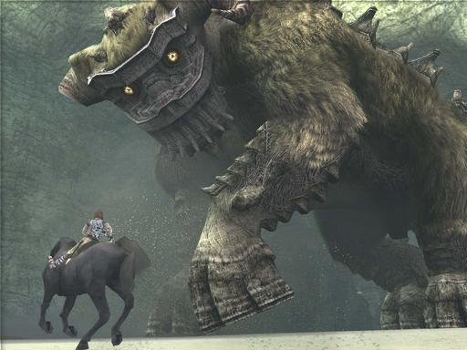 Shadow of the Colossus - Ревью Shadow of the Colossus.