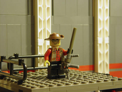 Team Fortress 2 - Team Fortress в LEGO (Brendan Mauro)
