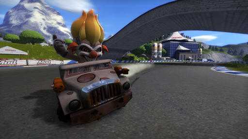 Герой Twisted Metal в ModNation Racers