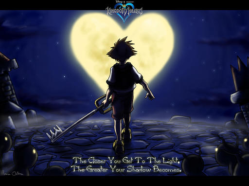 Kingdom Hearts фанарт