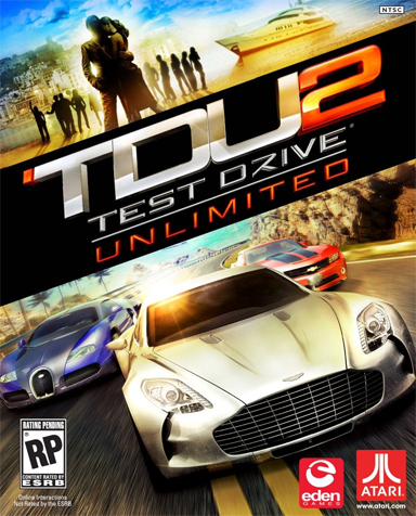 Test Drive Unlimited 2 - Бокс-арт