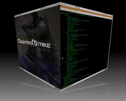 Counter-Strike: Source - Source на linux.