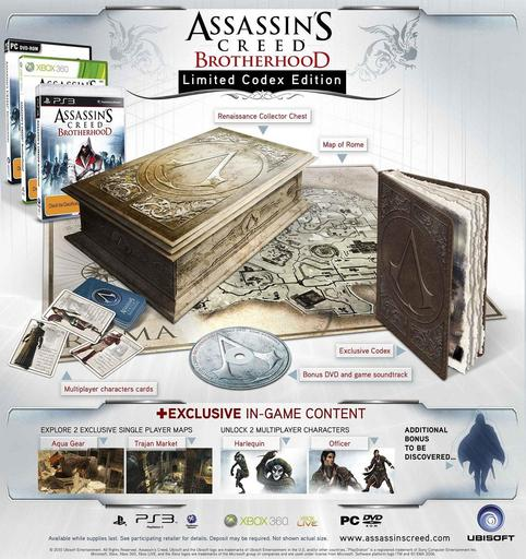 AC: Brotherhood Limited Edition. Что внутри?
