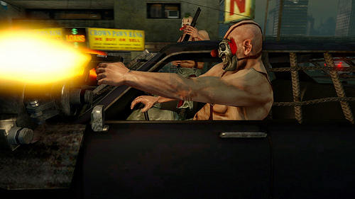 Twisted Metal (2011) - Twisted Metal сфокусирован на командой игре