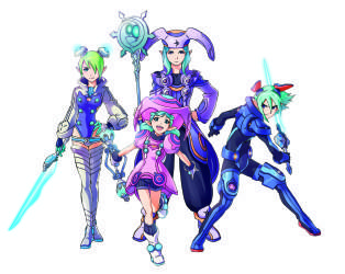 Phantasy Star Portable 2 арты