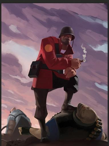 "Team Fortress 2 - ""Солдат - почти хэви?"" и ""Бешенный рандом!"""