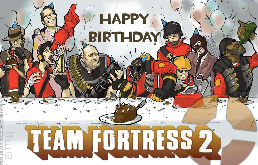 Image Gallery tf2 birthday – Tf2 Birthday Card