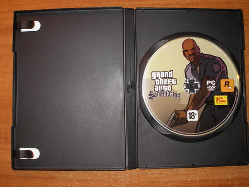 Grand Theft Auto: San Andreas - Обзор DVD-Box'a GTA: SA от 1С