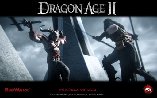 Dragon Age II - Новое видео и обои