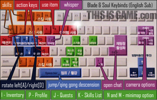 Новости G-Star 2010 ~ A Guide on How to Play the Demo Learn some of Blade & Soul's controls.