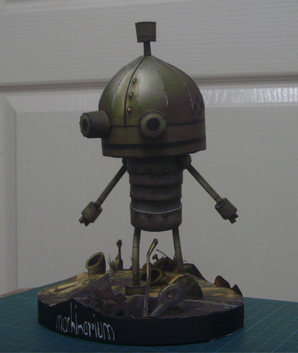 Машинариум - Machinarium papermodel