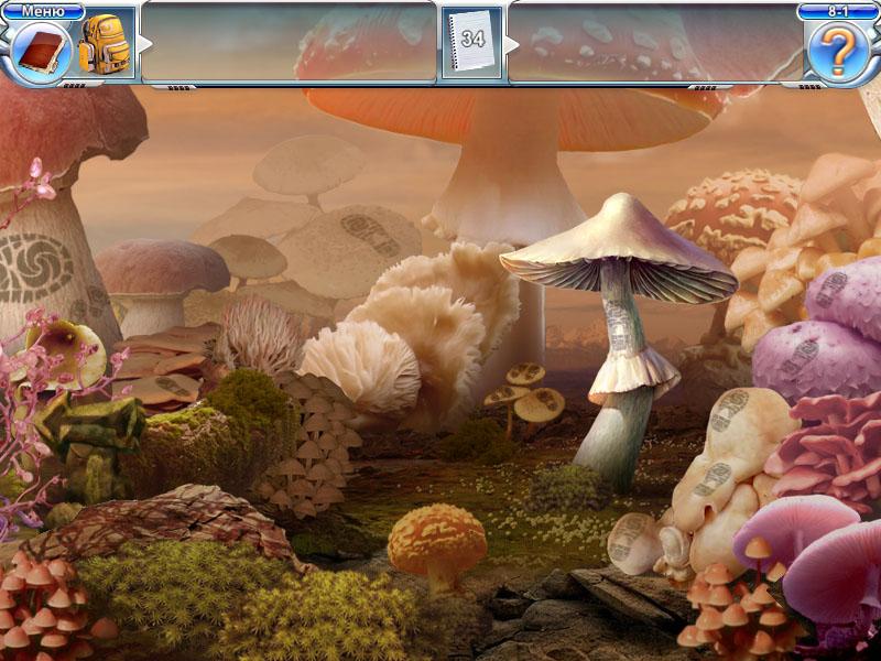 игра найти грибы