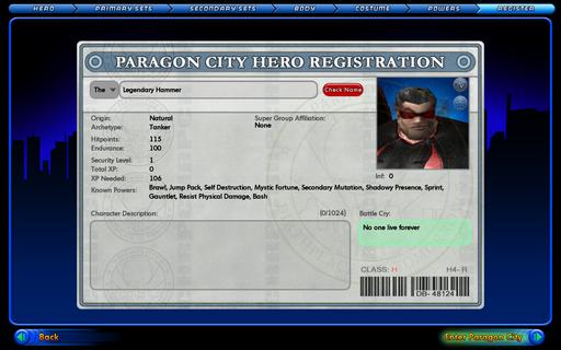 City of Heroes - Мое путешествие в мир Героев (много трафика)
