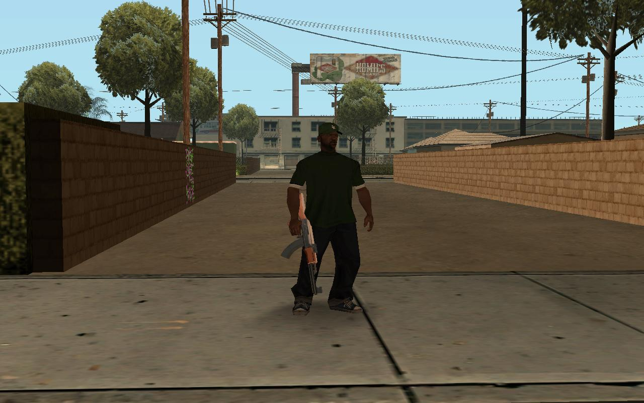 Картинки Grand Theft Auto  San Andreas  artfileru