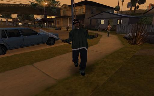 Grand Theft Auto: San Andreas - Герои GTA San Andreas