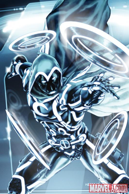 Эволюция герои marvel в обработке tron vol 2