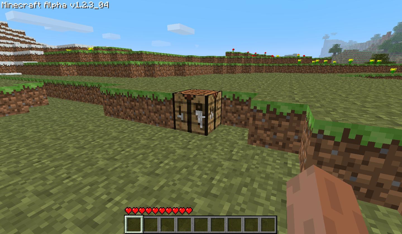 Как сделать большой верстак в minecraft