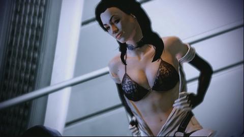 Сексуальные сцены mass efect