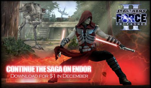 Star Wars: The Force Unleashed 2 - Star Wars: The Force Unleashed II -- Endor (DLC)
