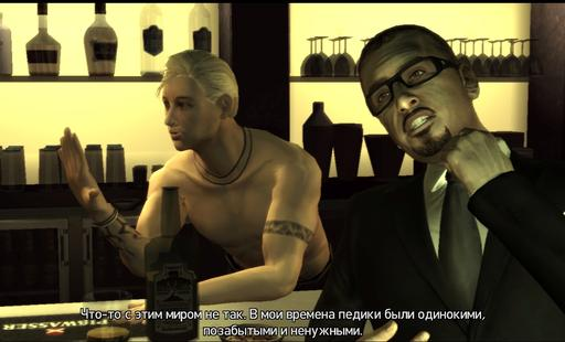 Grand Theft Auto IV - «Тяжело быть геем» - обзор The Ballad of Gay Tony