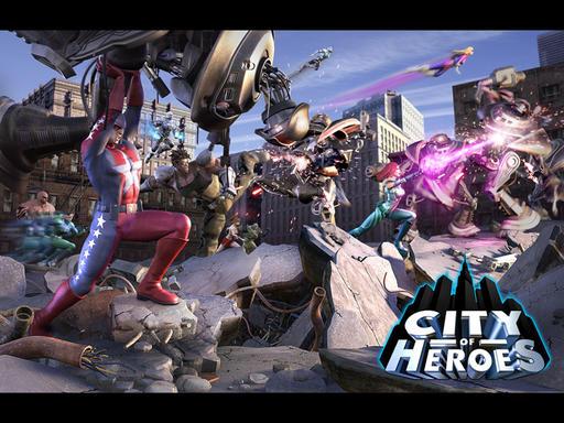 City of Heroes - Обои City of Heroes