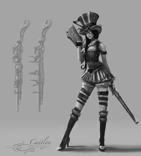 Caitlyn, the Sheriff of Piltover
