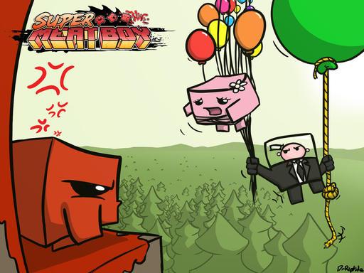 Новые фан-арты с deviantart.com - Super Meat Boy - Игры - Gamer.ru: социальная сеть для геймеров