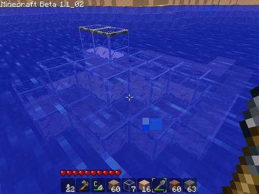 Как сделать подводный дом в майнкрафте