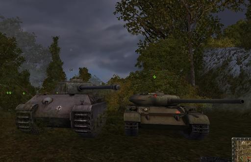 World of Tanks - T54 против Panther2