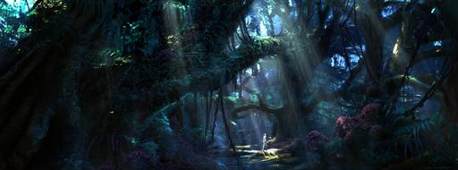 James Cameron's Avatar: The Game - Concept Art by Seth Engstrom