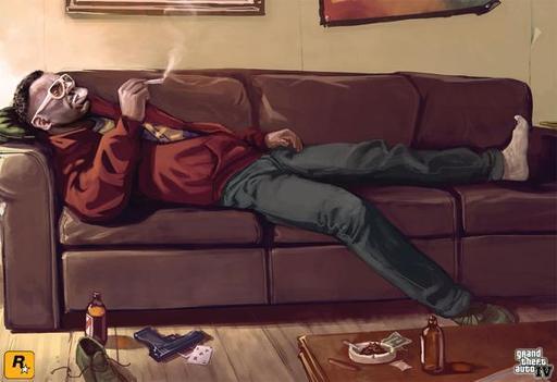 Grand Theft Auto IV - Геройское интервью с Малышом Джейкобом при поддержке GAMER.ru и CBR