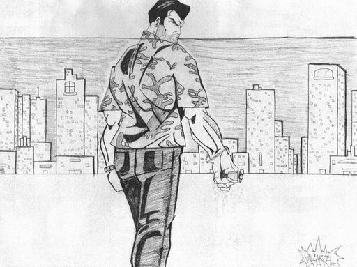 Grand Theft Auto: Vice City - Геройское интервью... нет, допрос Томми Версетти при поддержке Gamer.ru и CBR