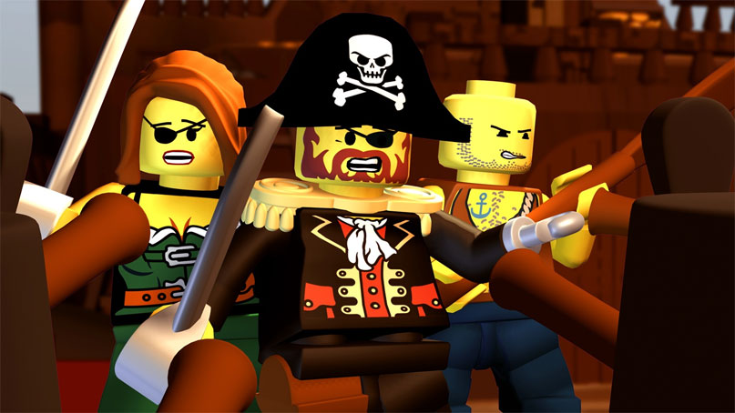 lego pirates of the caribbean рецензия