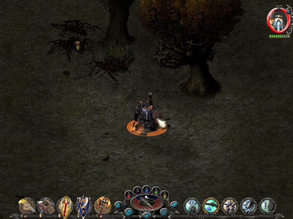 Sacred underworld попасть в пещеру гномов