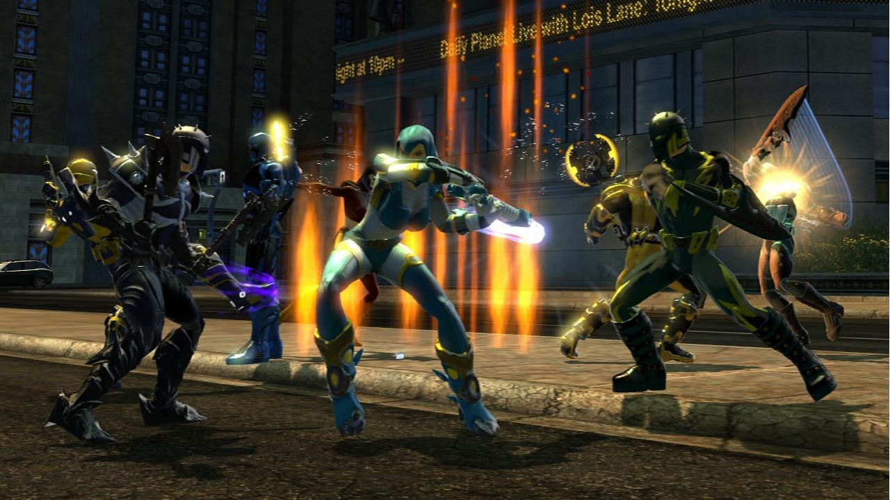 Смотрим на DC Universe Online - YouTube