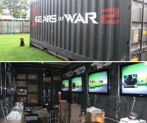 Gears of War 2 - Игровой контейнер для фанатов Gears of War