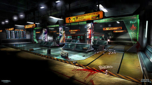 Dead Space 2 - The Dark, Lonely Art Of Dead Space 2